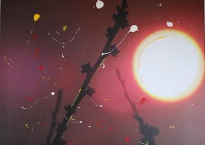 Abendsonne/Tupfen (80x60)